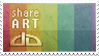 Share ART support stamp