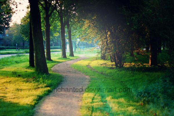 Morning walk by EliseEnchanted