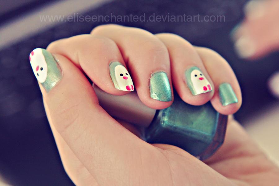 Nail polish by EliseEnchanted