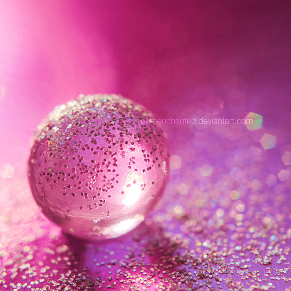 Pink Sphere by EliseEnchanted
