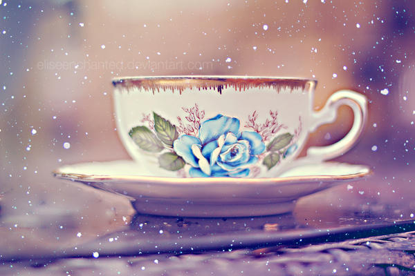 Winter tea by EliseEnchanted