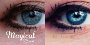 Magical eyes tutorial