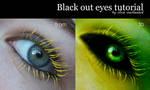 Black out eye tutorial