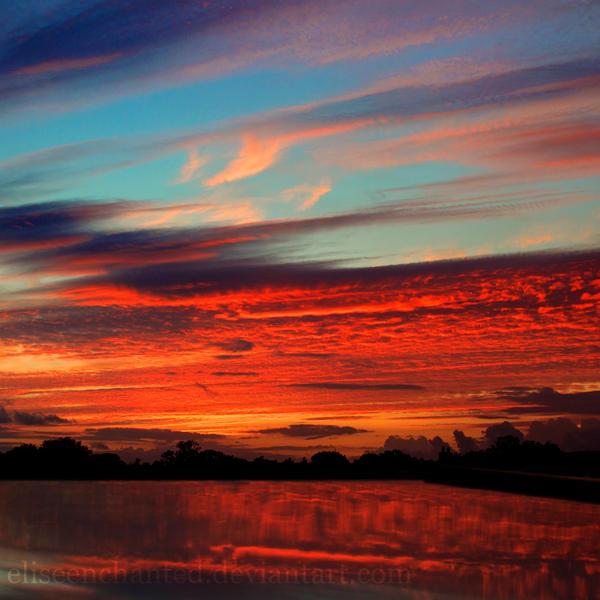 Sky burn by EliseEnchanted