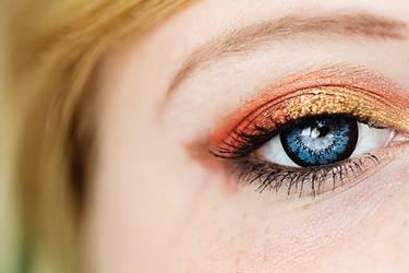 My autumn eye stock by EliseEnchanted
