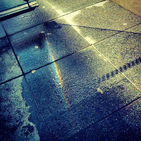 Sudden Rainbow by EliseEnchanted