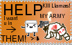 Stamp: THE WAR, HELP THEM by Kill-Bloody-Rosesxxx