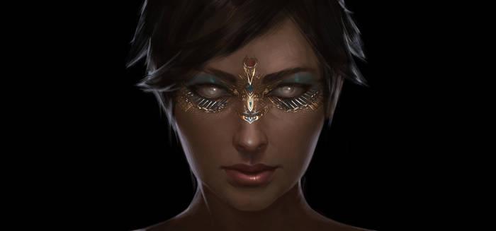 The Goddess ASET Potrait
