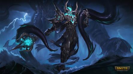 SMITE : Sunken Sorcerer Poseidon (with Kraken)