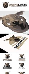 Bushpig Safaris Logo Design by An1ken