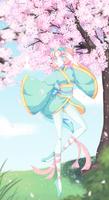 Dancing Among the Sakura Blossoms