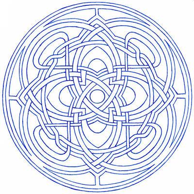 Kells Mandala By Da Vos
