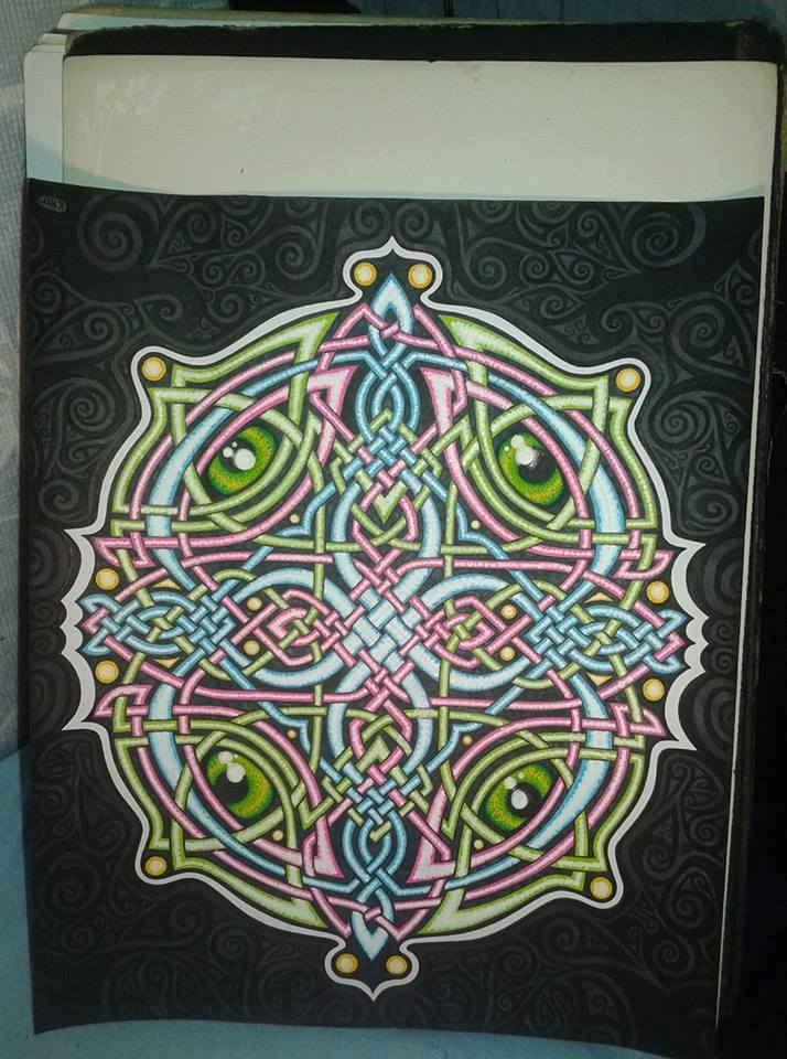 Iris - Celtic Knot by Da-Vos