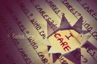 I care.