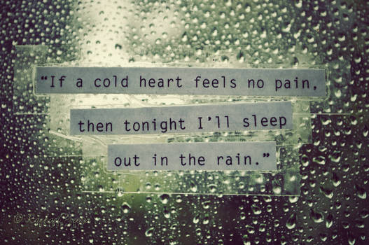 cold heart.