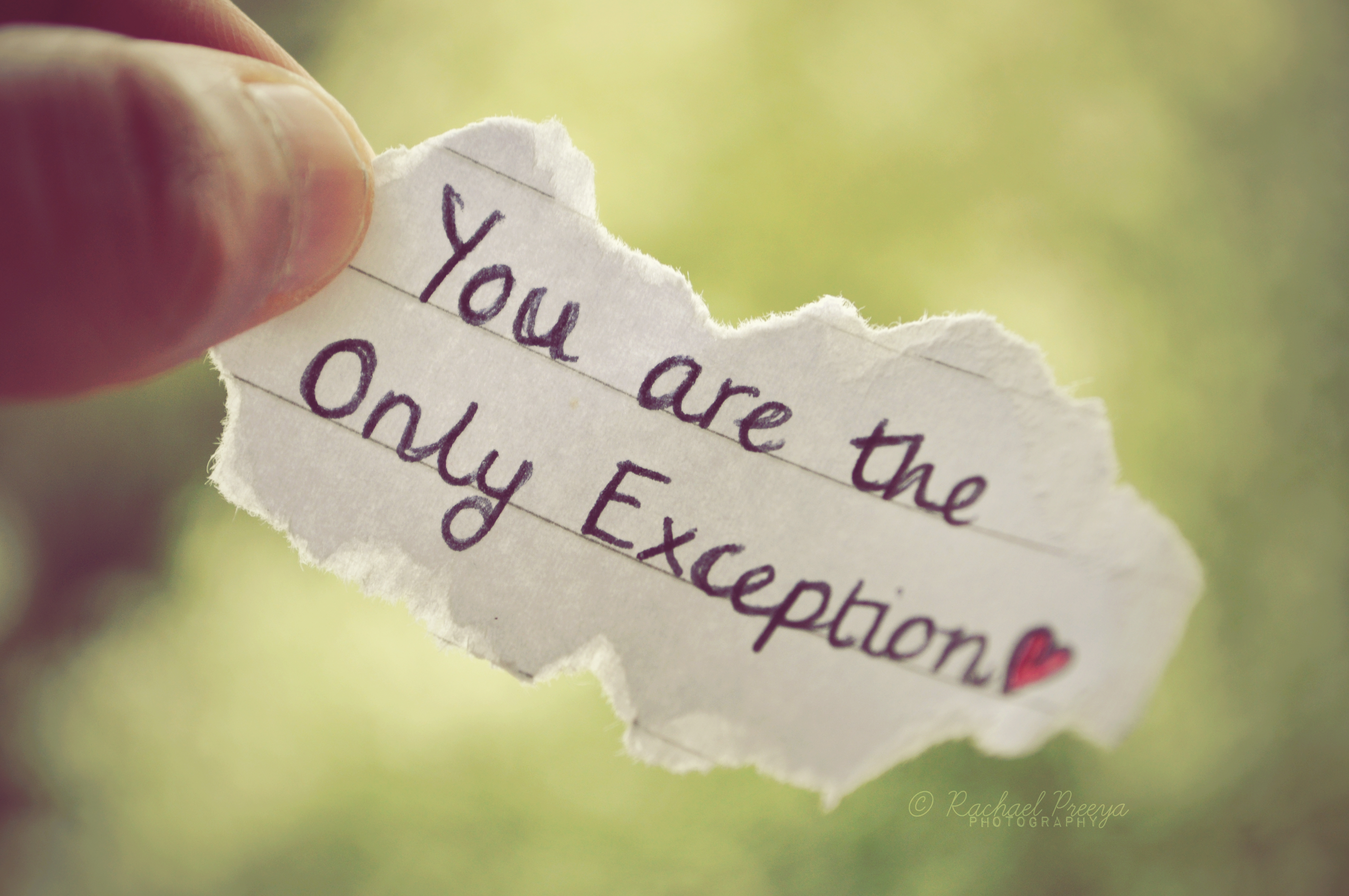 One Sided Love Quotes For Facebook : Lo Que Hoy Necesito Decir: You Are The Only Exception ?