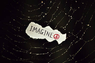 imagine all the people...