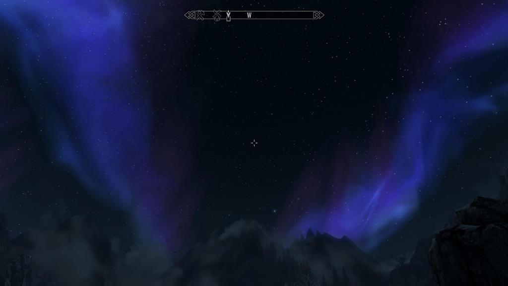 Aurora Boreal 3 en Skyrim by James-Stalink