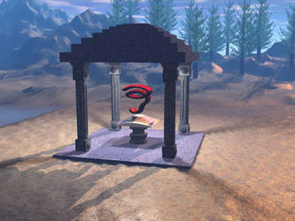 Neo-Doric Temple by newsnipple