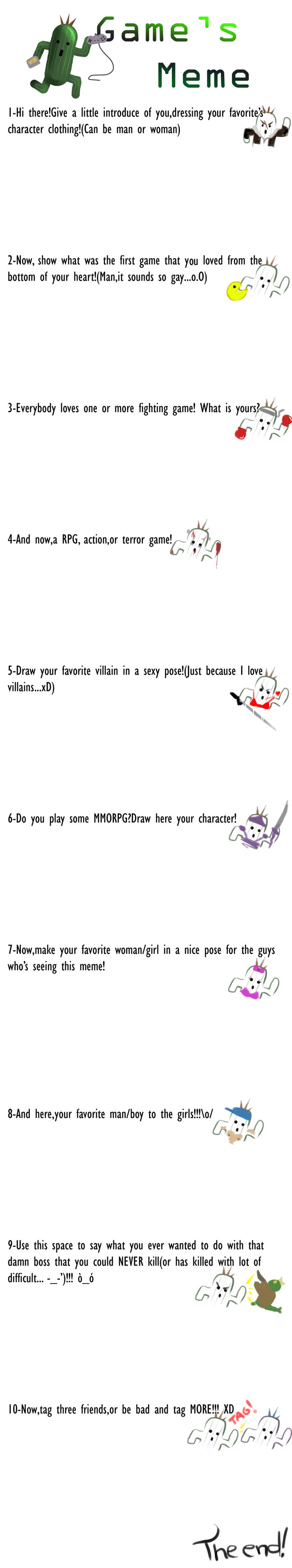 Game's Meme by RinoaPereira