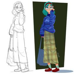 Girl by VirtualBarata
