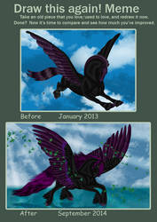 Improvement meme - Fantasia Black by FlightDesigns