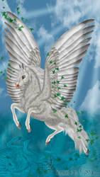 Fantasia Dappled White by FlightDesigns