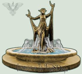 Haidene Fountain (details)