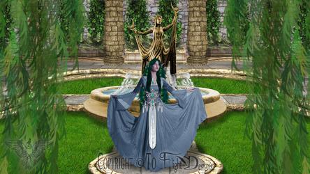 High Priestess of Elune by FlightDesigns