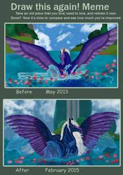Improvement meme - Fantasia Blue by FlightDesigns