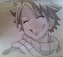 Fairy Tail - Happy Natsu by AnimeLover00001