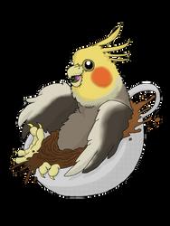 Cocka-Tea-L by RossRegionArts