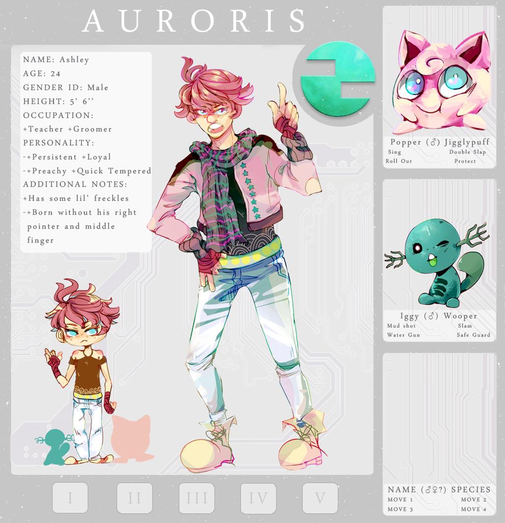 Auroris  Specialist Npc App Ashley Marshal by BloodyPunkRed