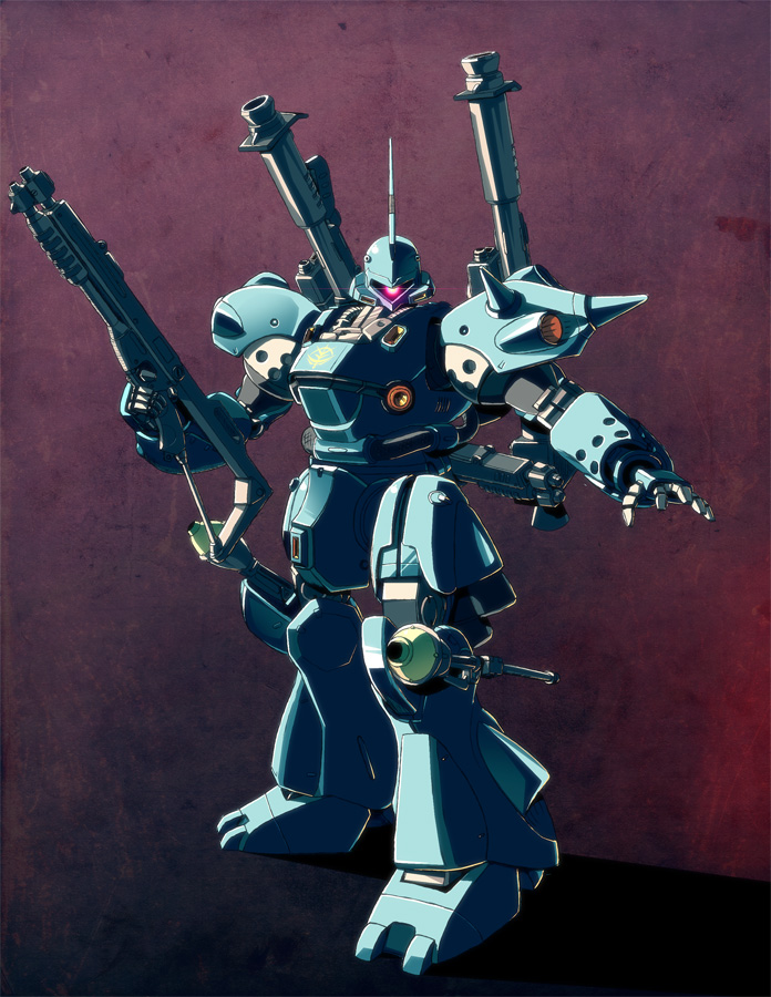MS-18e Kampfer IN COLOUR by Koyote042