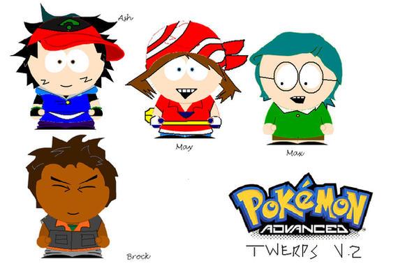 Pokemon, south Park style 2 by Robotgirl101