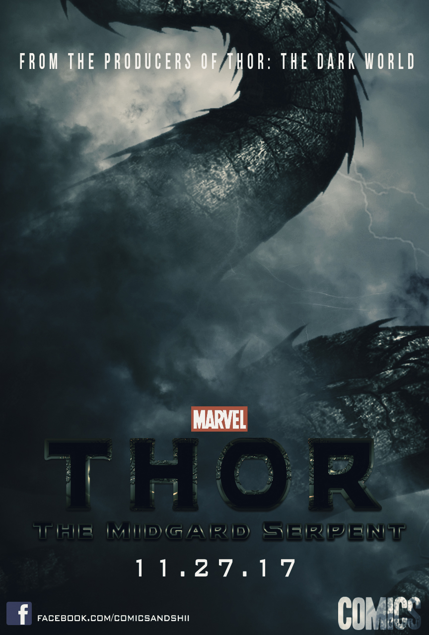 Thor: The Midgard Serpent (Fan Poster) by Shervell on ...