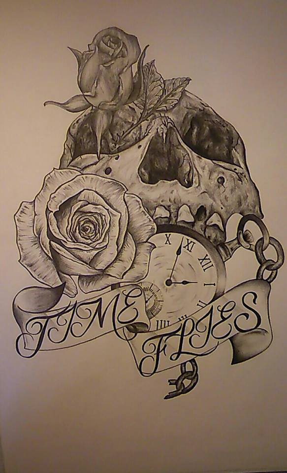 Time Tattoo Sleeve Designs