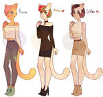 [OPEN] Cats Adoptable Auction by Natsugumi