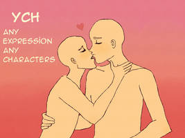 [OPEN] YCH   COUPLE AUCTION by Natsugumi