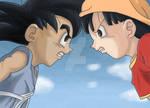 Son Goku Vs Pan
