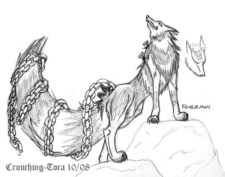 Fenrirmon by Crouching-Tora