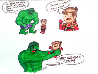 Yes! Protect the Baby Avenger by xX-AVJ-Xx