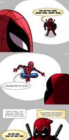 Spideypool: Shut up, boxes