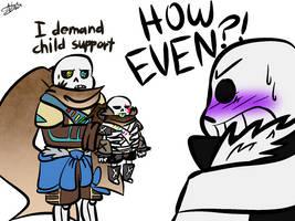 Papercut Child support by xX-AVJ-Xx