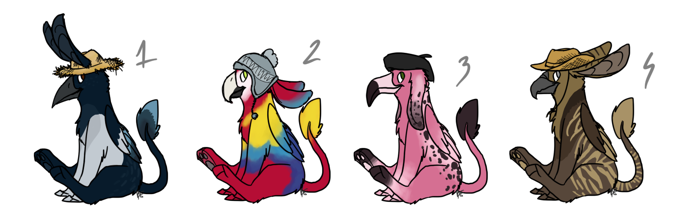 griffhatter adoptables CLOSED by blinding-eclips