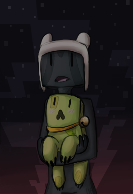 minecraft night by blinding-eclips