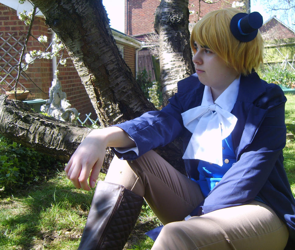 Hetalia Cardverse England: Waiting for the king .4 by GXGIRL-93
