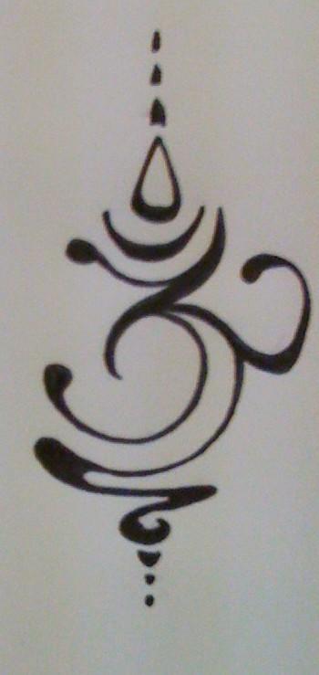 Om Tattoo Design By Silverwingsbutterfly On Deviantart