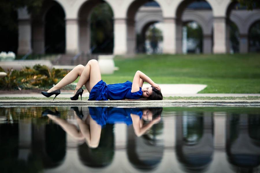 Kate in Balboa park 1 by JunKarlo