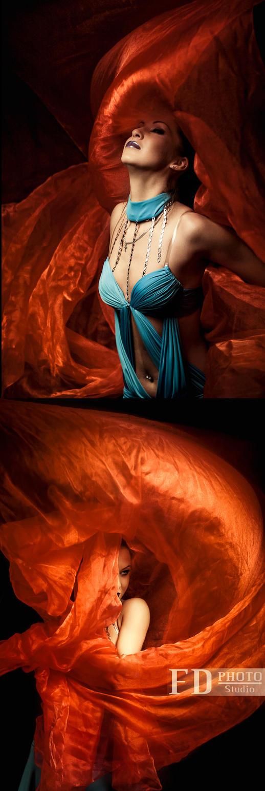 Fire fabric 2 by JunKarlo